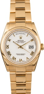 Pre Owned Rolex Presidential Day-Date 118208
