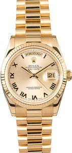 Rolex Presidential Day-Date 118238CRP Roman
