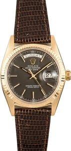 Rolex Presidential Day-Date 1803 Leather Strap
