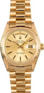 Rolex Presidential Day-Date 1803 Yellow Gold