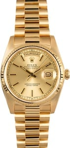 Rolex Presidential Day-Date 18038 Champagne Dial