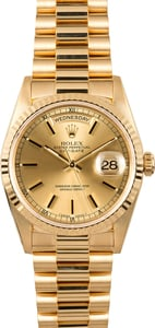 Rolex Presidential Day-Date 18238 Yellow Gold