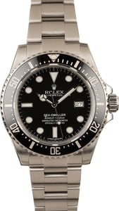 Pre Owned Rolex Sea-Dweller 116600 Ceramic 40MM T