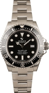 Pre-Owned Rolex Sea-Dweller 116600 Ceramic Bezel 40MM