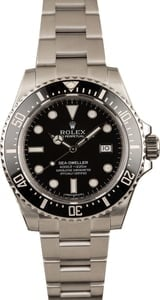 Pre-Owned Rolex Sea-Dweller 116600 Ceramic Watch