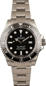 Used Rolex Sea-Dweller 116600 Stainless Steel Watch