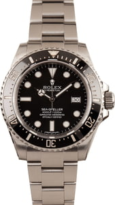 Used Rolex Steel Sea-Dweller 116600 Ceramic Bezel