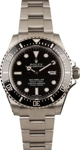 Used Rolex Sea-Dweller 116600 Ceramic Bezel Steel Watch