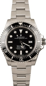Rolex 116600 Sea-Dweller Ceramic Black Bezel