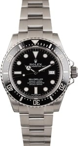 Used Rolex Sea-Dweller 116600 Black