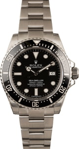 Pre-Owned Rolex Sea-Dweller 116600 Steel Oyster Band