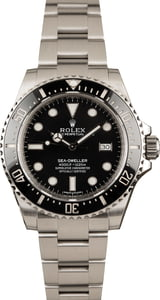 Pre-Owned Rolex Sea-Dweller 116600 Diving Watch