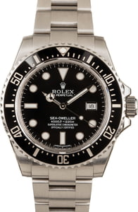 Rolex Sea-Dweller 116600 Steel Men's Watch