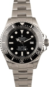 Pre-Owned Rolex Sea Dweller Deepsea 116660 Black Dial