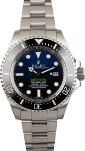 Pre Owned Rolex Sea-Dweller 116660 Deepsea Blue
