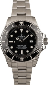Pre Owned Rolex Black Sea Dweller Deepsea 116660