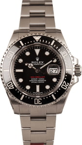 Unworn Rolex Black Ceramic Sea-Dweller 126600