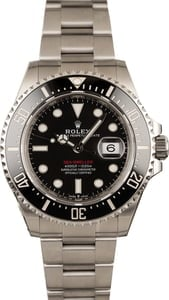 Unworn Rolex 126600 Red Lettering Sea-Dweller