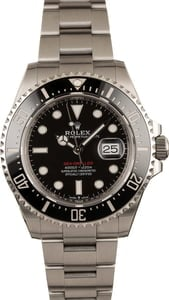 Rolex Sea-Dweller 126600 Red Lettering Dial