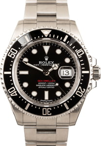 Rolex Red Sea-Dweller 126600 Steel Oyster