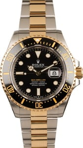 Pre-Owned Rolex Two Tone Sea-Dweller 126603