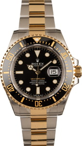 Unworn Rolex Sea-Dweller 126603 New Two Tone Model