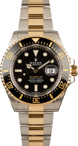 Rolex Two Tone Sea-Dweller 126603
