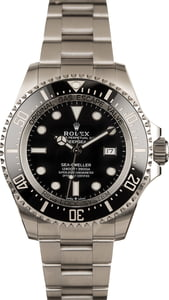 Used Rolex Sea-Dweller 126660 Steel Oyster