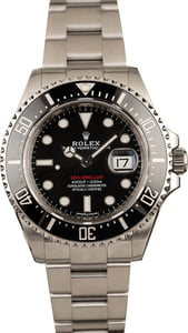 Pre-Owned Rolex Sea-Dweller 126600 Stainless Steel Oyster