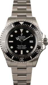 Pre Owned Rolex DeepSea SeaDweller 126660 New Model