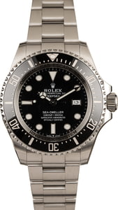 Pre Owned Rolex Sea-Dweller 126660 Steel Oyster