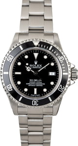 Rolex Sea-Dweller 16600 Diving Bezel