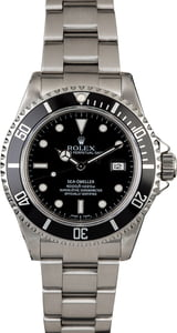 Rolex Sea-Dweller 16600 Diver's Timing Bezel