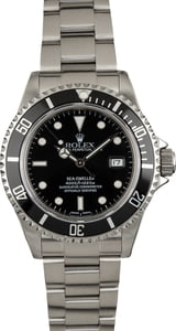 Used Rolex Sea-Dweller 16600 Oyster Perpetual