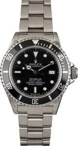 Used Rolex Black Sea-Dweller 16600