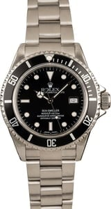 Men's Rolex Steel Sea-Dweller 16600