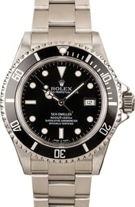 Rolex Sea-Dweller 16600 Black 100% Genuine