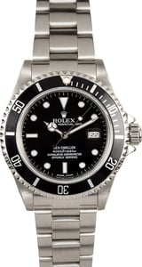 Rolex Sea-Dweller 16600 Black Certified Pre-Owned