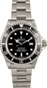Rolex Sea-Dweller 16600 Stainless Steel 100% Authentic