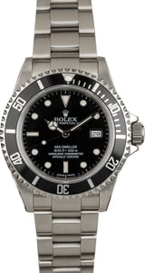 Used Rolex Sea-Dweller 16600T Black Dial