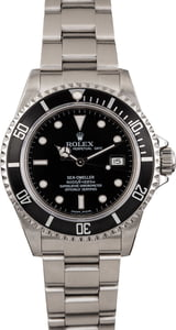 Pre Owned Rolex Sea-Dweller 16600T Black Dial