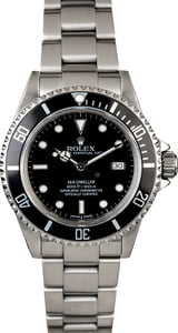 Certified Rolex Sea-Dweller 16600 Divers Watch