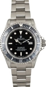Used Rolex Sea-Dweller 16660 Diving Watch