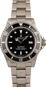 Used Rolex Sea-Dweller 16660 Black Dial