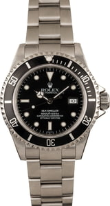 Pre-Owned Rolex Sea-Dweller 16660 Black Dial