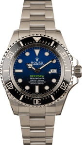 Used Rolex DeepSea 126660 D-Blue Ceramic
