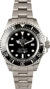Men's Rolex Sea-Dweller DeepSea 116660 Black Ceramic Bezel