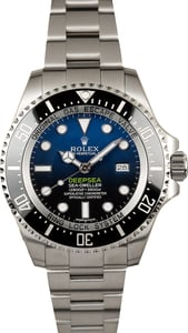 Rolex Sea-Dweller Deepsea Blue 116660 Factory Stickers