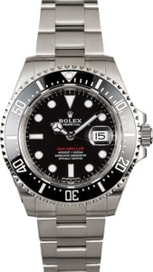 Rolex Red Sea-Dweller Lettering Ref 126600