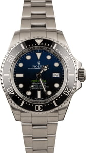Used Rolex Deepsea Blue/Black Dial 116660B James Cameron